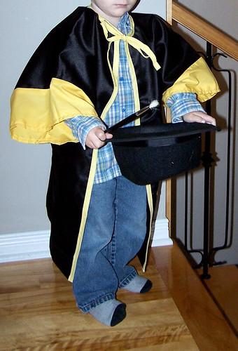 Handmade Magician Halloween Costume