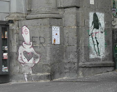 Port'Alba (Jekyll283) Tags: street girls urban italy woman streetart stencils sexy muro art ass girl sex wall female writing naked nude graffiti donna stencil nikon women montana paint erotic italia campania arte alba dante butt curves can spray urbanart writers dollar porta napoli naples donne walls cans nuda usd spraycan muri nudo neapel acrilico piazzadante erotico kaf  trallall bomboletta artecontemporanea artedistrada  areosol cyop dollaro portalba areosolart trallalla cyopkaf bombolettaspray cyopekaf napolistreetart