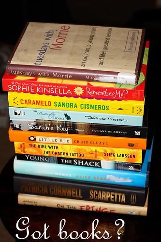 books up next