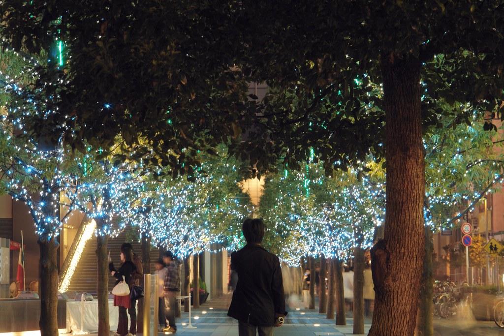 Akihabara UDX ilumination