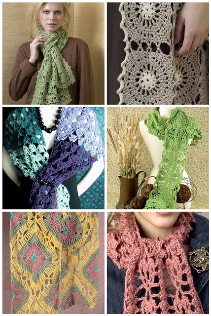 NaturallyCaron.com Scarf Round-Up