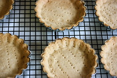 Mini Tart Shells Cooling