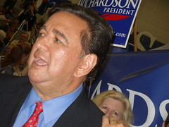 RICHARDSON PRODUCTIVELY CAMPAIGNING IN NEW HAMPSHIRE 2007