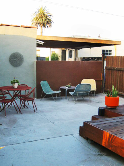 Venice Backyard Patio and Deck