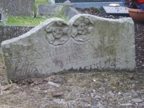 how to fix a sinking headstone