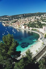 Villefrench-sur-mer - Promenade des Marinieres (Sant'Anna Silveira) Tags: france praia nice frana montecarlo mediterrneo villefrenchsurmer promenadedesmarinieres boulevardnapoleoniii d6098