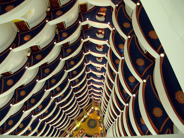 Burj Al Arab Dubai lobby rooms