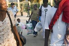 Sudanese refugees, Israel, 8/9/07