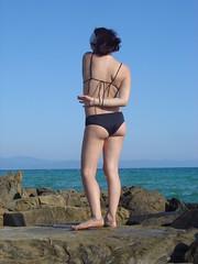 DSC02460 (lorello) Tags: sea black girlfriend mare body bikini martina mortelliccio