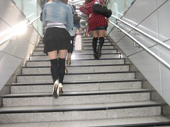Knee socks (Sakena) Tags: girls socks tokyo legs knee yourfavorites canonixus50