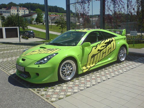 Toyota Celica Tuning