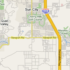 New City of Menifee Valley