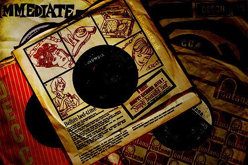 Record Sleeve Artwork (columbia)