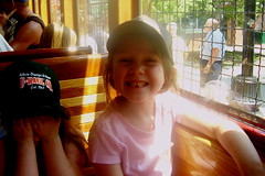 072107 Little Rock Ashlee on the Trolley