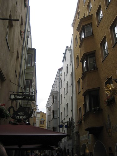 Streets in Old Town Innsbruck