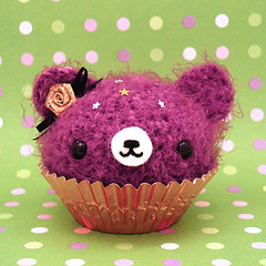 Amigurumi Cupcake bear for Rosalie