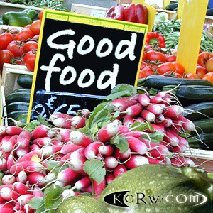 KCRW Good Food logo
