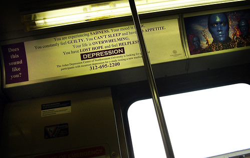 Riding the CTA? Depressed? Have we got a drug for you!