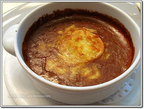 世貿聯誼社西餐廳法式洋蔥湯