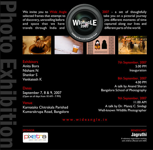 A photography exhibition