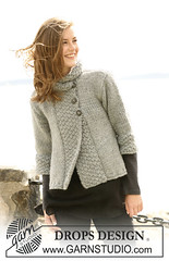 Drops Cardigan (LollyKnit) Tags: drops knit yarn cardigan garnstudio lopi freepattern