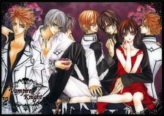 Yuuki e vampiros (Usagi - chan) Tags: vampire knight vampiro zero yuuki kaname