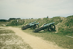 Cannon at  Yorktown, 1957 (lreed76) Tags: cannon 1957 yorktown americanrevolution
