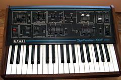 Kawai Synthesizer 100F / Teisco S-100F (Matrixsynth) Tags: analog synth synthesizer kawai 100f teisco matrixsynth s100f