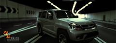 汽車第一次材質燈光測試