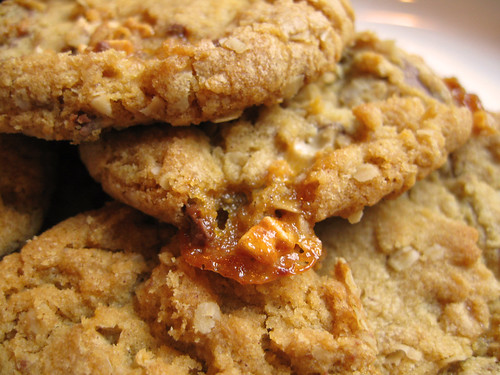 Cinnamon Snickers Cookies