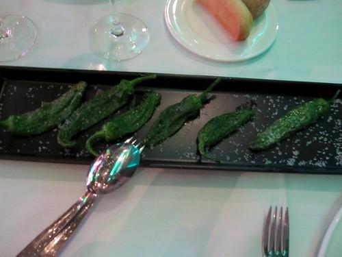 Pimientos verdes de Gernika