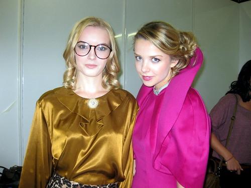 Jessica and Greta