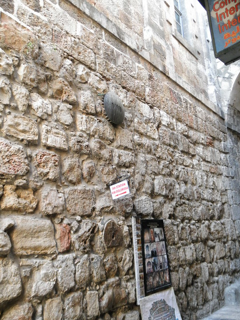 Station 8 Via Dolorosa Jerusalem