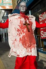 Brighton Zombie Walk 2010 - Priest (smileham) Tags: halloween walking dead brighton zombie walk horror undead priest zombies