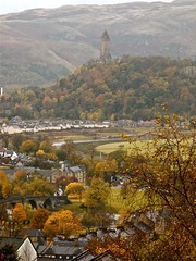 A view From Stirling Castle (cris cap) Tags: uk lumix scotland stirling united kingdom fz100