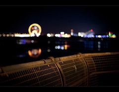 Blackpool piers (Ianmoran1970) Tags: carnival wheel happy lights pier bokeh fair ferris blackpool attraction attractions hff ianmoran illiuminations fencefriday happyfencefriday ianmoran1970