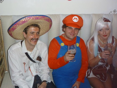 Mexican, Mario and Lady Gaga