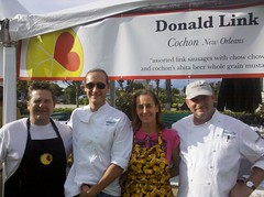ryan Prewitt, Susan spicer and Donald link in culver city supporting alex's lemonade stand