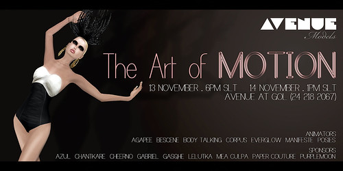 AVENUE Models :: The Art of MOTION