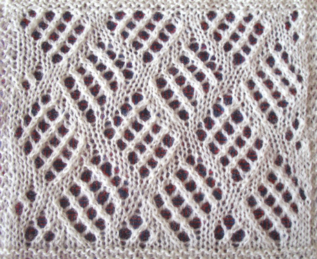 MESH STITCH KNITTING Free Knitting Projects