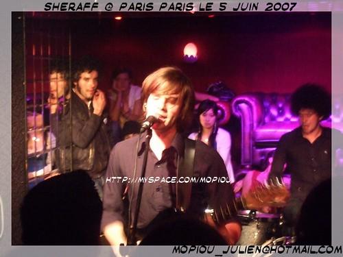 Sheraff Paris Paris 5-06-2007
