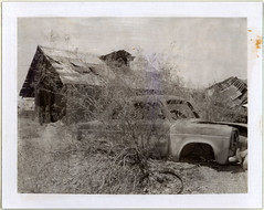 (moominsean) Tags: arizona leftovers ghosttown polaroid195 vulturemine type107 expired0983