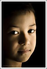 The Art of Portrait (Khalid AlHaqqan) Tags: portrait cute face 50mm kid eyes child cousin kuwait khalid yousef kuwson alhaqqan