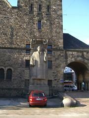 Lutherstatue an der Lutherkirche II