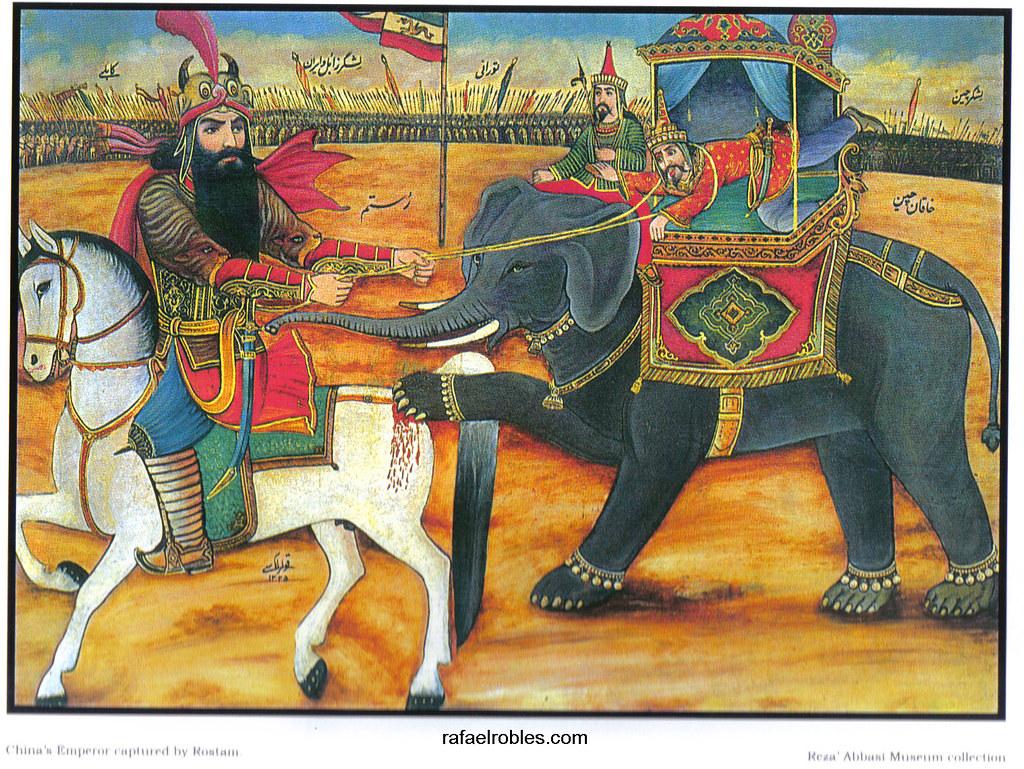 Gilgamesh and sohrab and rostam