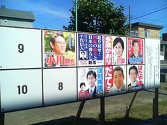 Hokkaido Sangiin senkyo(Election)