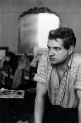 Francis Bacon (1909-1992) - Anglo-Irish Painter by Henri Cartier-Bresson (londonconstant) Tags: portrait heritage photographer painter francisbacon henricartierbresson costi angloirish londonconstant faves15faves