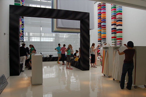 Kvadrat showroom at Bella Center