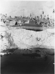 Tarawa - 2nd Engineers at work (afigallo) Tags: war pacific wwii amtrak ww2 marines engineers tarawa lvt betio