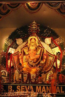 GSB Lord Ganesha Kings Circle